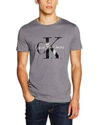 0d38c2865afe T-shirt da uomo di Calvin Klein a partire da 20 € - Lyst