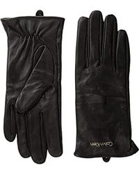 CALVIN KLEIN 205W39NYC - Basic Leather Glove Accessory - Lyst