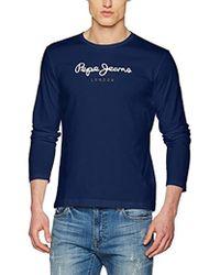 Pepe Jeans - EGGO Long Pm501321 T-shirt - Lyst