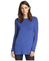 James & Erin - Long-sleeve Crew Neck Tee - Lyst