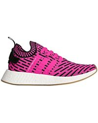 Lyst adidas Originals NMD R2 PK W zapatilla en color rosa