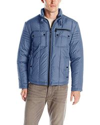 Kenneth Cole - Quilted Down Hipster Jacket - Lyst