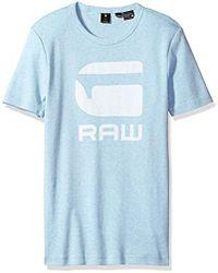 b17318bff9 G-Star RAW Drillon R T S s T-shirt in Blue for Men - Lyst