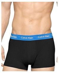CALVIN KLEIN 205W39NYC - Cotton Stretch 3 Pack Low Rise Trunks - Lyst