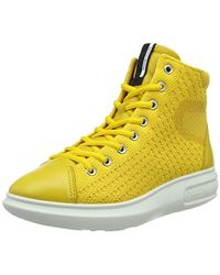 Ecco - Soft 3 High Top Fashion Sneaker - Lyst