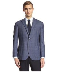 Franklin Tailored - Windowpane Sportcoat - Lyst