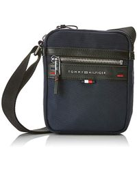 Tommy Hilfiger - Elevated Mini Reporter, 's Shoulder Bag, Blue (tommy Navy/core Stp), 6x20.5x16.5 Cm (b X H T) - Lyst