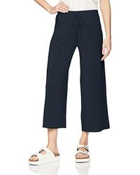Velvet By Graham & Spencer - Avalyn Soft Fleece Wide Leg Pant - Lyst