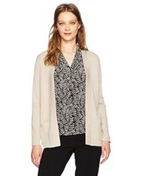 Anne Klein - 2 Pocket Malibu Cardigan - Lyst