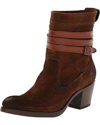 Frye - Jane Strappy Short Boot - Lyst