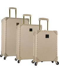 Vince Camuto - 3 Piece Hardside Spinner Luggage Set - Lyst