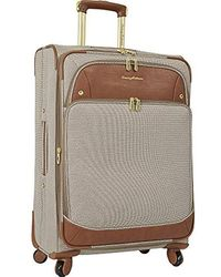 """Tommy Bahama - 21"""" Expandable Carry On Spinner Luggage, Brown - Lyst"""