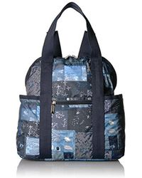 LeSportsac - Classic Double Trouble Backpack - Lyst