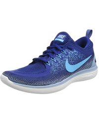 84f9760d22ea Nike  s Free Distance 2 Running Shoes in Blue for Men - Lyst