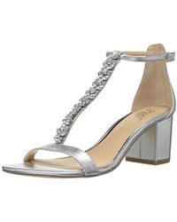 Badgley Mischka - Jewel Lindsey Heeled Sandal - Lyst