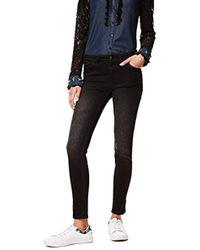 Desigual - Denim_second Skin Gold Slim Jeans - Lyst