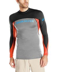 Quiksilver - Performer Long Sleeve Surf Tee Rashguard - Lyst
