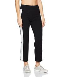CALVIN KLEIN 205W39NYC - Performance High Waist Side Stripe Crop Flare Pant - Lyst