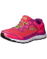7a8881c68a2a Fila - Memory Fresh Start Slip Resistant Work Shoe - Lyst