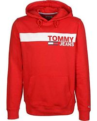 baa08959 Tommy Hilfiger 's Tjm Essential Graphic Hoodie in White for Men - Lyst