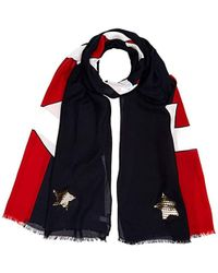Tommy Hilfiger - Metallic Scarf, Blue (corporate Mix 901), One (size: Os) - Lyst