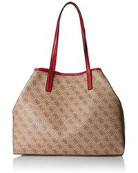 Guess - Vikky Classic Logo Large Tote - Lyst