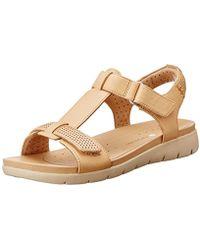 Clarks - Un Haywood Wedge Heels Sandals - Lyst