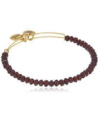 ALEX AND ANI - Brilliance Bead Pink/shinny Bracelet - Lyst