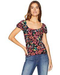 Guess - Short Sleeve Fernanda Top - Lyst