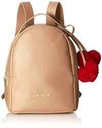 Love Moschino - Borsa Pin Grain Pu Backpack Handbag - Lyst