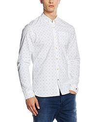 Scotch & Soda - Allover Printed 1 Pocket Shirt, Camicia Uomo, Multicolore (Dessin D), L - Lyst