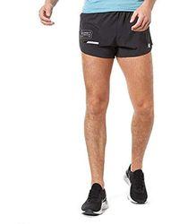 bad770141a8c9 Asics Metarun Split Short in Black for Men - Lyst