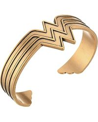 ALEX AND ANI - Wonder Woman Cuff Bracelet - Lyst