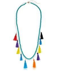 Rebecca Minkoff - S Sofia Tassel Layering Necklace - Lyst