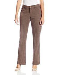 Lee Jeans - Comfort Fit Kassidy Straight Leg Pant - Lyst