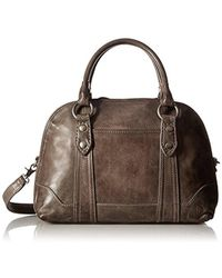 Frye - Melissa Domed Satchel Leather Handbag - Lyst
