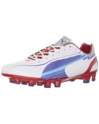 52a2d7883127 Lyst - PUMA Evospeed 3.5 Leather Fg Men s Firm Ground Soccer Cleats ...