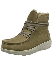9be25dc9e5206d Fitflop - Loaff Lace-up Ankle Boot Shearling Chukka - Lyst