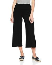 Susana Monaco - Allison Widelegged Cropped Culotte Pant In Solid Color - Lyst