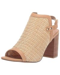 Steven by Steve Madden Sweep Heeled Sandal - Natural