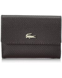 Lacoste - Chantaco Medium Double Purse - Lyst