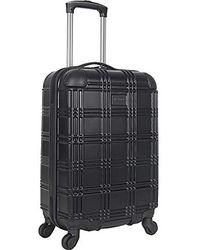 "Ben Sherman - Luggage Nottingham 20"" Embossed Pap 4-wheel Carry-on - Lyst"