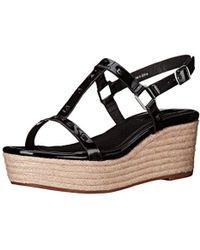 Kensie - Tavi Platform Sandal - Lyst