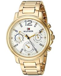 cd3c829c Tommy Hilfiger - 'claudia' Quartz Stainless Steel Casual Watch, Color:gold-