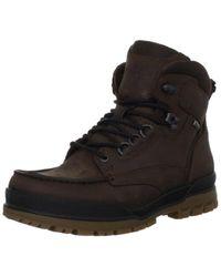 Ecco - Track 6 Gore-tex Moc Toe High Winter Boot - Lyst