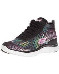 Skechers - F Lex Appeal 2.0 Recruit Fashion Sneaker - Lyst