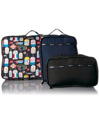 6f29d1f9e250 Lyst - Lesportsac The Paint By Numbers Large Weekender Bag