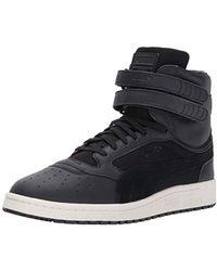 PUMA - Sky Ii Hi Color Blocked Lthr Sneaker - Lyst