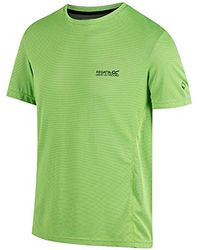 aa0a658e902f7 Nike Breathe Hyper Dry T-shirt In Yellow 832835-703 in Yellow for Men - Lyst