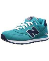 New Balance - 574 Pique Polo Pack Low-top Trainers - Lyst